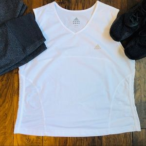 Adidas Sleeveless Climalite Run Shirt - size XL